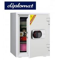 送料無料【diplomatディプロマット社 デジタルテンキー式耐火・耐水金庫 容量36L 530EN88WR】設置場所を選ばない、シンプルでスタイリッシュなデザイン。