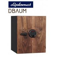 送料無料【diplomatディプロマット社 DBAUMプレミアムセーフ タッチスクリーン&指紋認証式ロック 容量36L DBAUM500】最新式のタッチパネルと指紋認証併用のロックを採用。