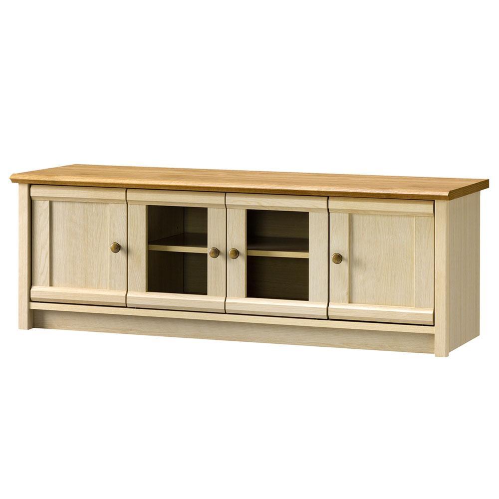 ミルフィー ローボード MLC-4012AV フレンチカントリー調でおしゃれな家具!