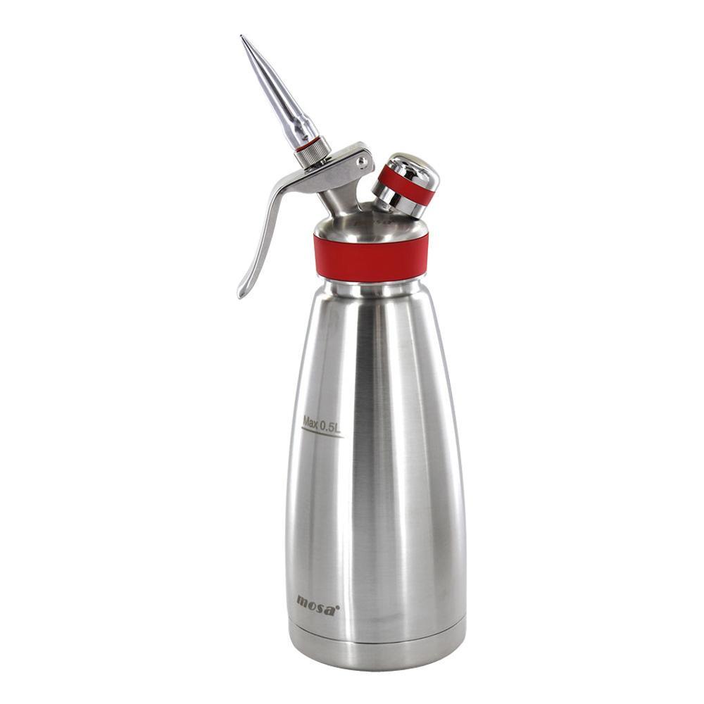 MOSA NITORO ナイトロ コーヒーメーカー サーモ 0.5L 赤 CSS9-05 黒ビールのようなナイトロコーヒーが簡単に作れる。