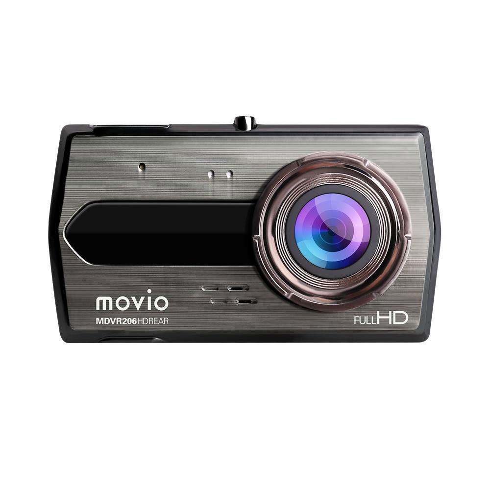 movio リアカメラ搭載ドライブレコーダー MDVR206HDREAR リアカメラ搭載!2カメラで前後を記録。あおり運転対策に!