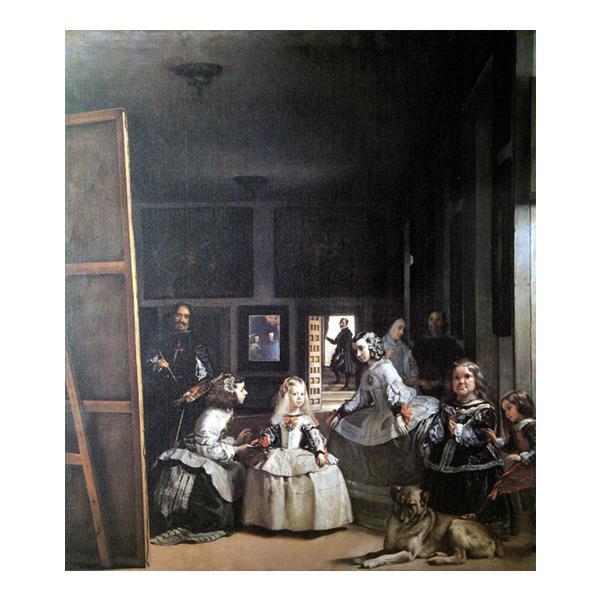 プリハード ディエゴ・ベラスケス 宮廷の侍女たち F10号 額縁G 5712 ディエゴ・ベラスケスの複製画です。
