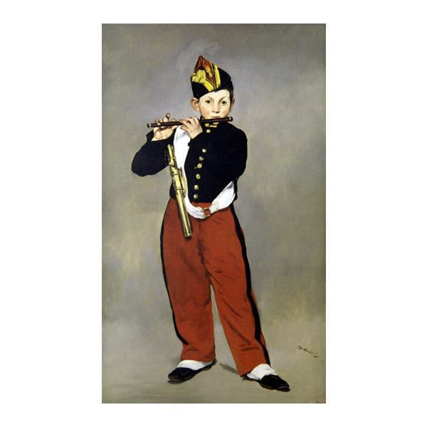 プリハード エドゥアール・マネ 笛を吹く少年 M8号 額縁B 4634 エドゥアール・マネの複製画です。