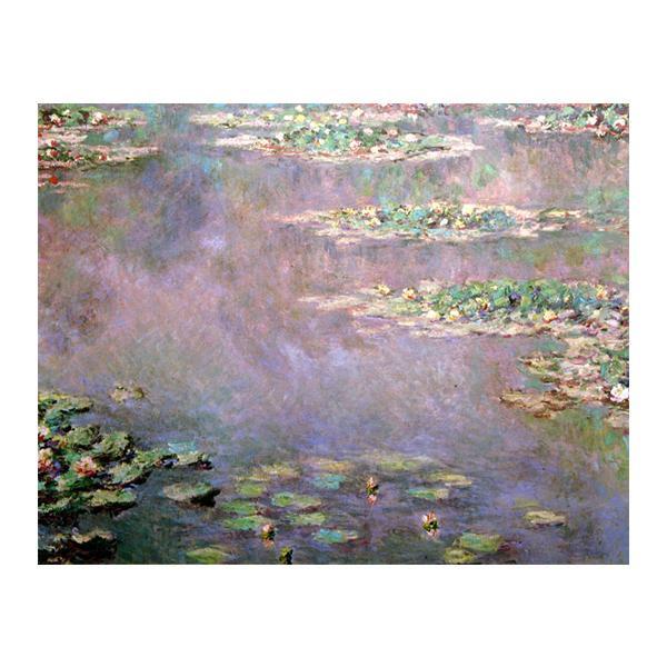 プリハード クロード・モネ 睡蓮・水の風景 F6号 額縁G 3090 クロード・モネの複製画です。