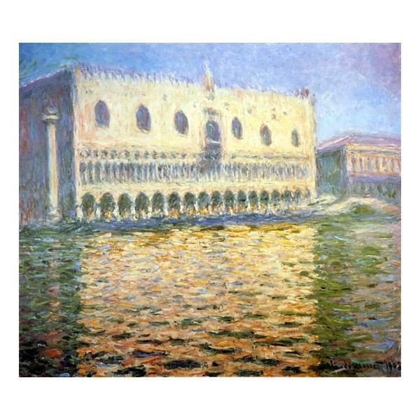 プリハード クロード・モネ 旧総督府・ヴェニス F10号 額縁D 5534 クロード・モネの複製画です。