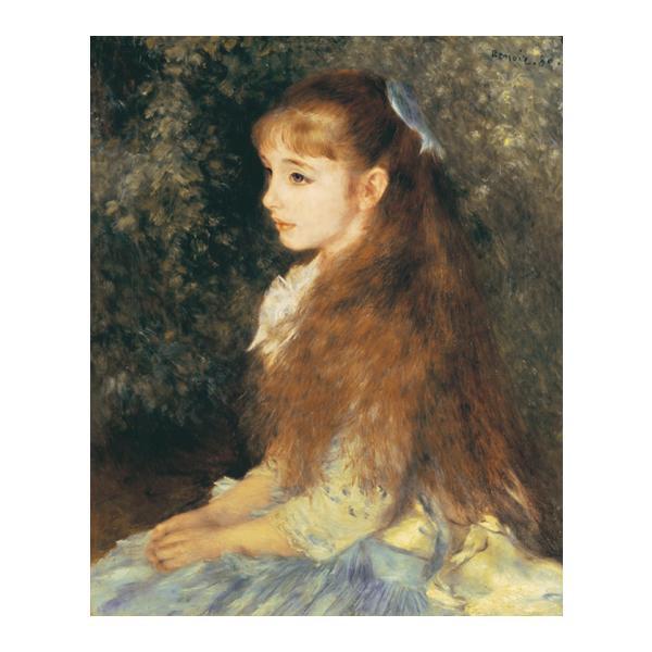 プリハード ピエール・オーギュスト・ルノワール イレーヌ・カーン・ダンヴェルス嬢の肖像 F6号 額縁C 3695 ピエール・オーギュスト・ルノワールの複製画です。