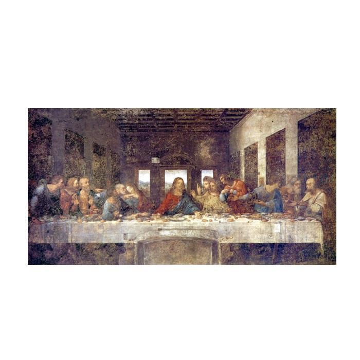 プリハード レオナルド・ダ・ヴィンチ 最後の晩餐(修復前) 20号特寸 額縁G 9686 レオナルド・ダ・ヴィンチの複製画です。
