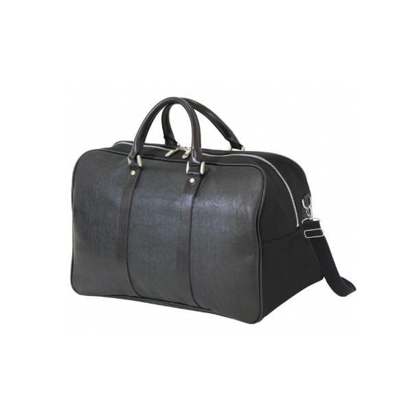 BAGGEX KTタイプ ボストンバッグ L 04-0116 ブラック メインルーム内にオープンポケット、ファスナーポケットを装備。