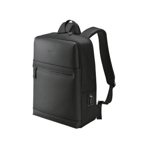 BAGGEX ローレル デイパック USBポート付き 13-6074 ブラック ビジネスシーンで役立つデイパック。