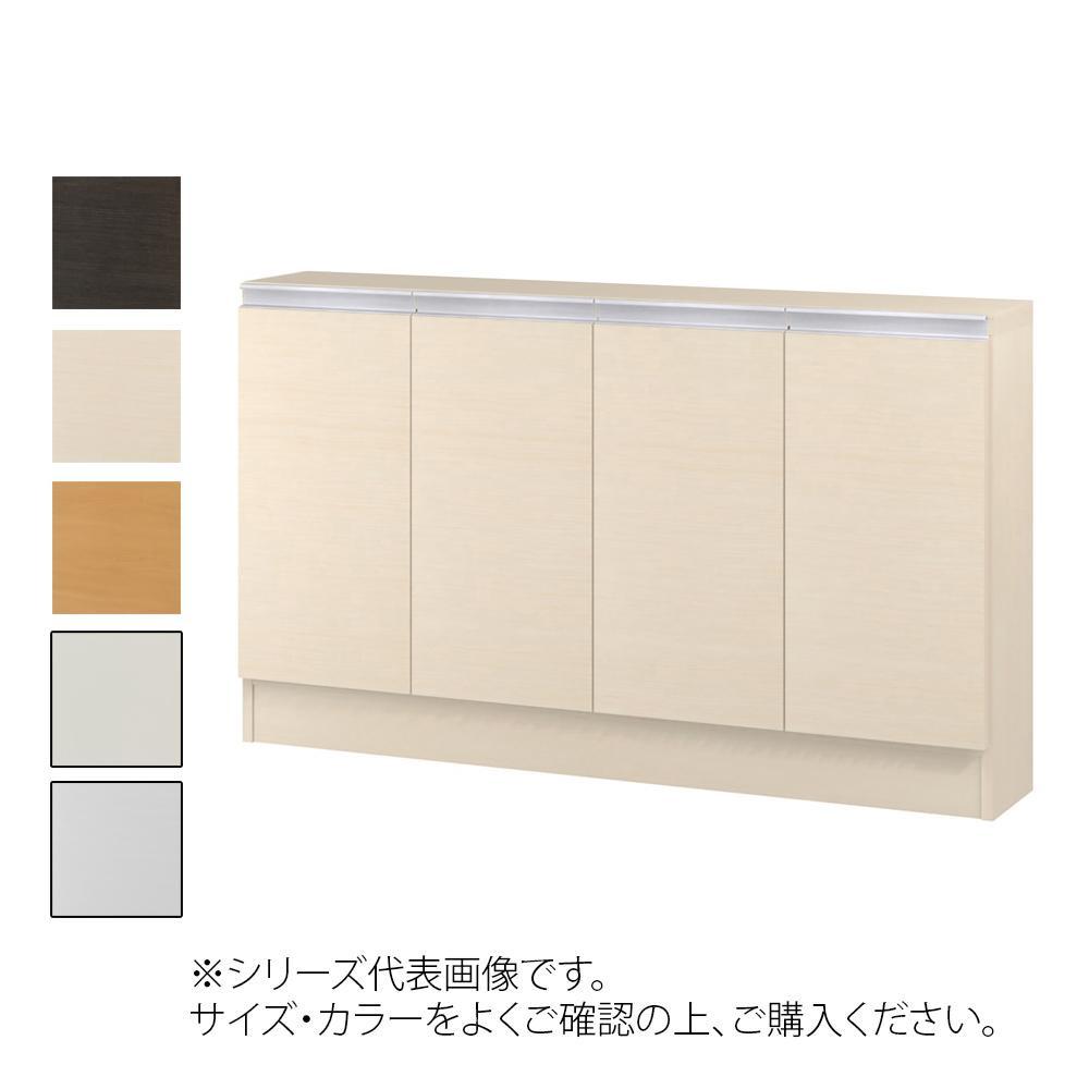 TAIYO MIOミオ(ミドルオーダー収納)7095 S ダークブラウン(DB) つかみやすいハンドルの扉付き収納棚。