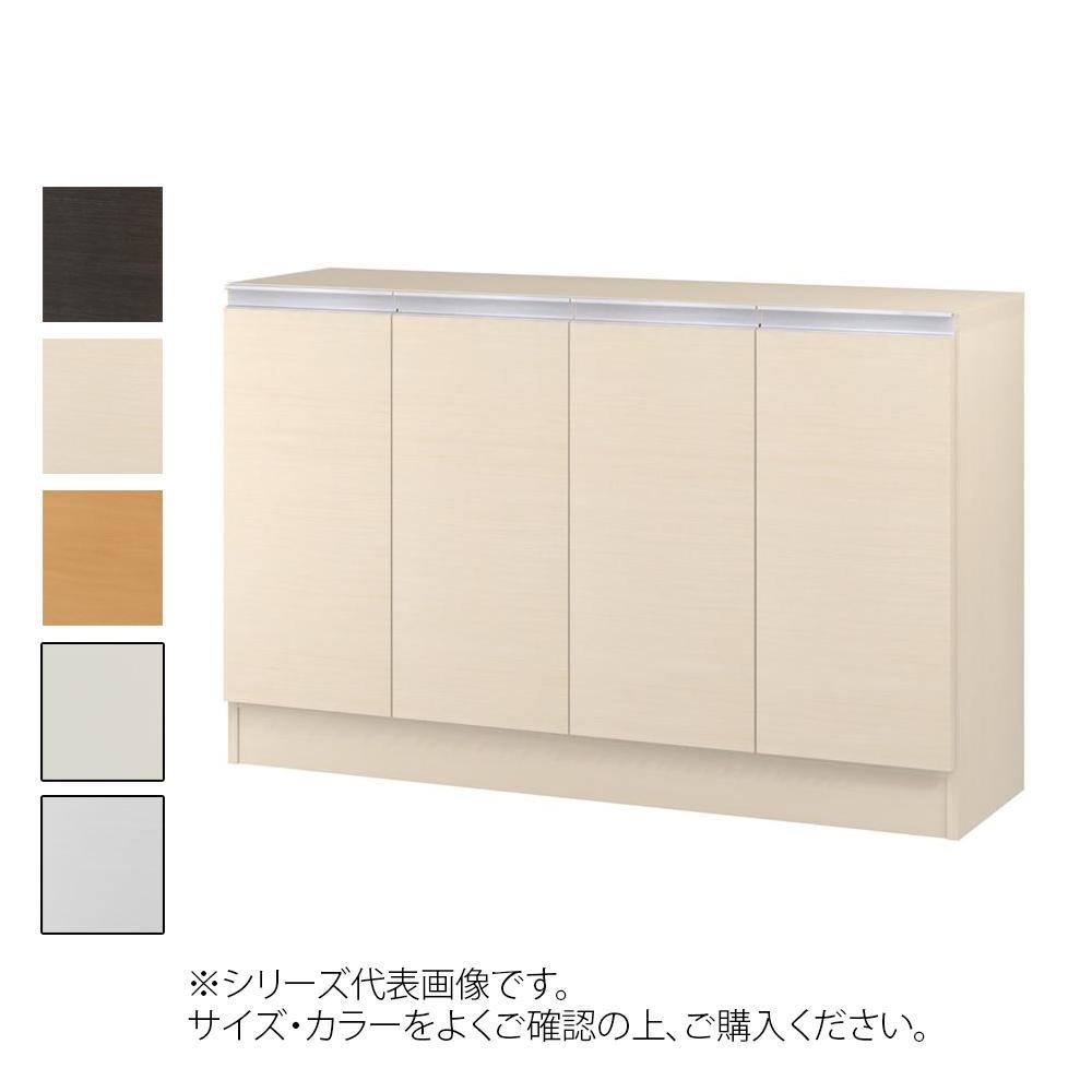 TAIYO MIOミオ(ミドルオーダー収納)75110 R ダークブラウン(DB) つかみやすいハンドルの扉付き収納棚。