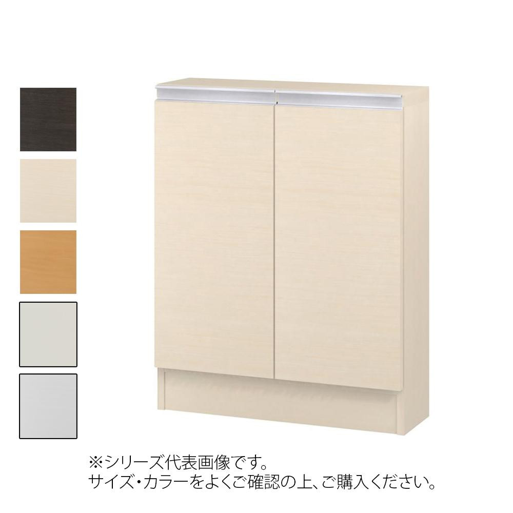TAIYO MIOミオ(ミドルオーダー収納)7555 S ダークブラウン(DB) つかみやすいハンドルの扉付き収納棚。