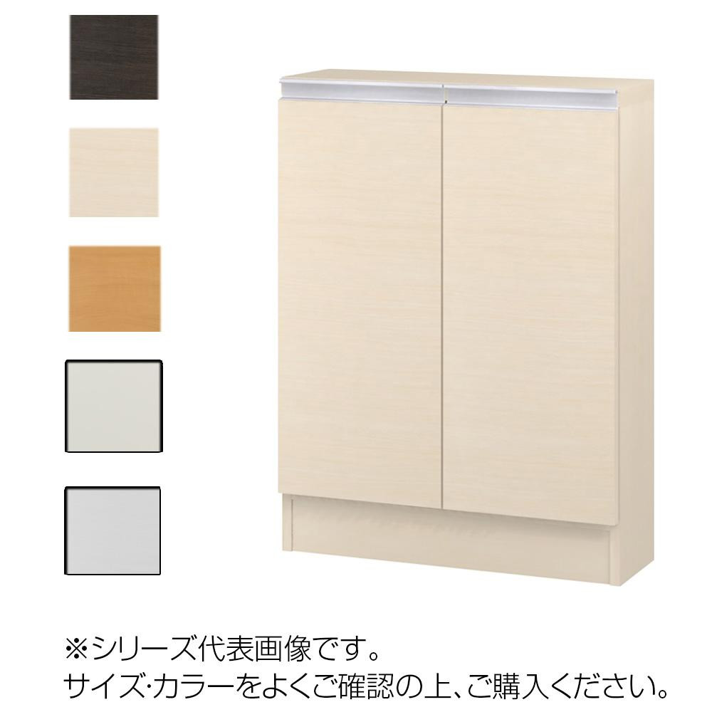 TAIYO MIOミオ(ミドルオーダー収納)8045 S ダークブラウン(DB) つかみやすいハンドルの扉付き収納棚。