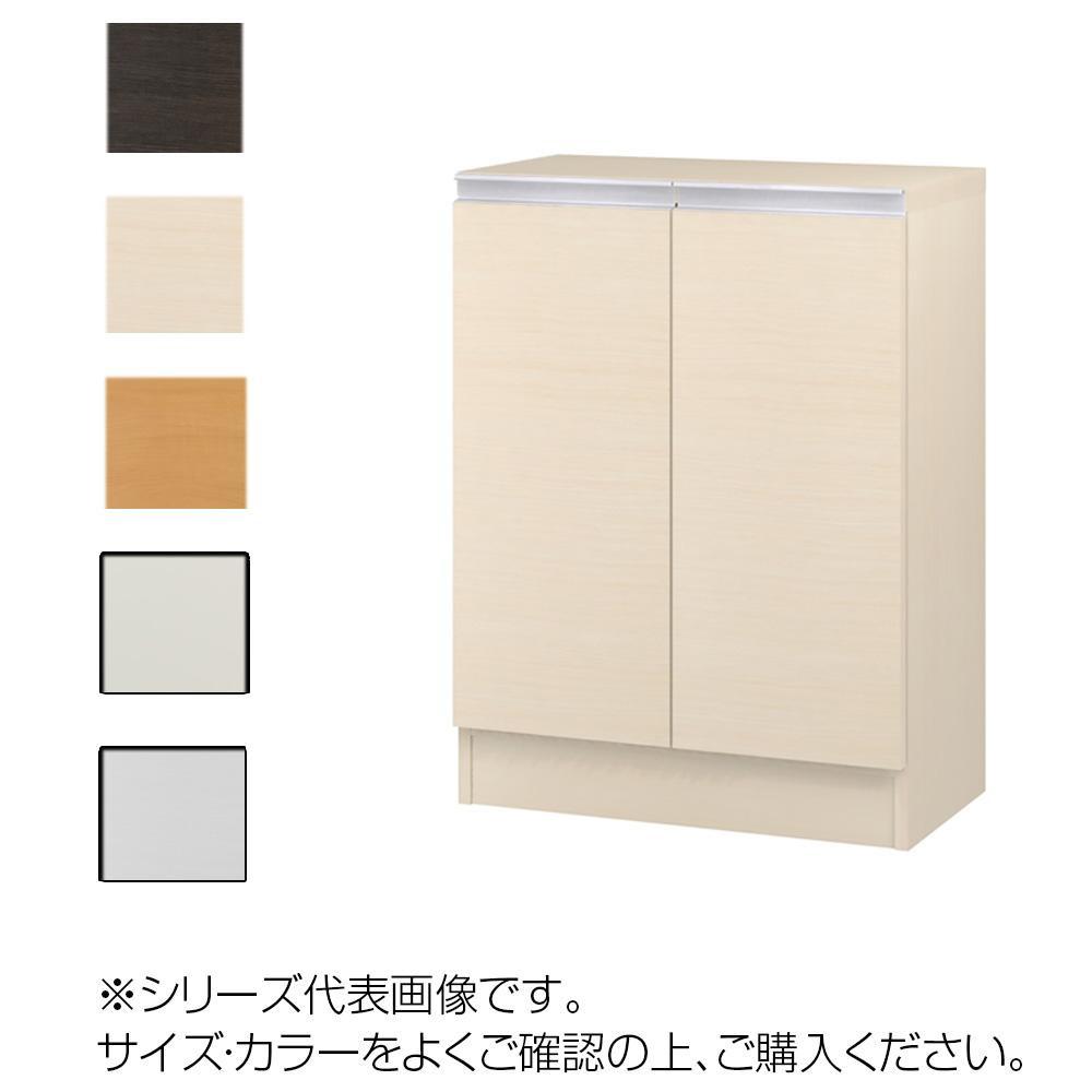 TAIYO MIOミオ(ミドルオーダー収納)8055 R ダークブラウン(DB) つかみやすいハンドルの扉付き収納棚。