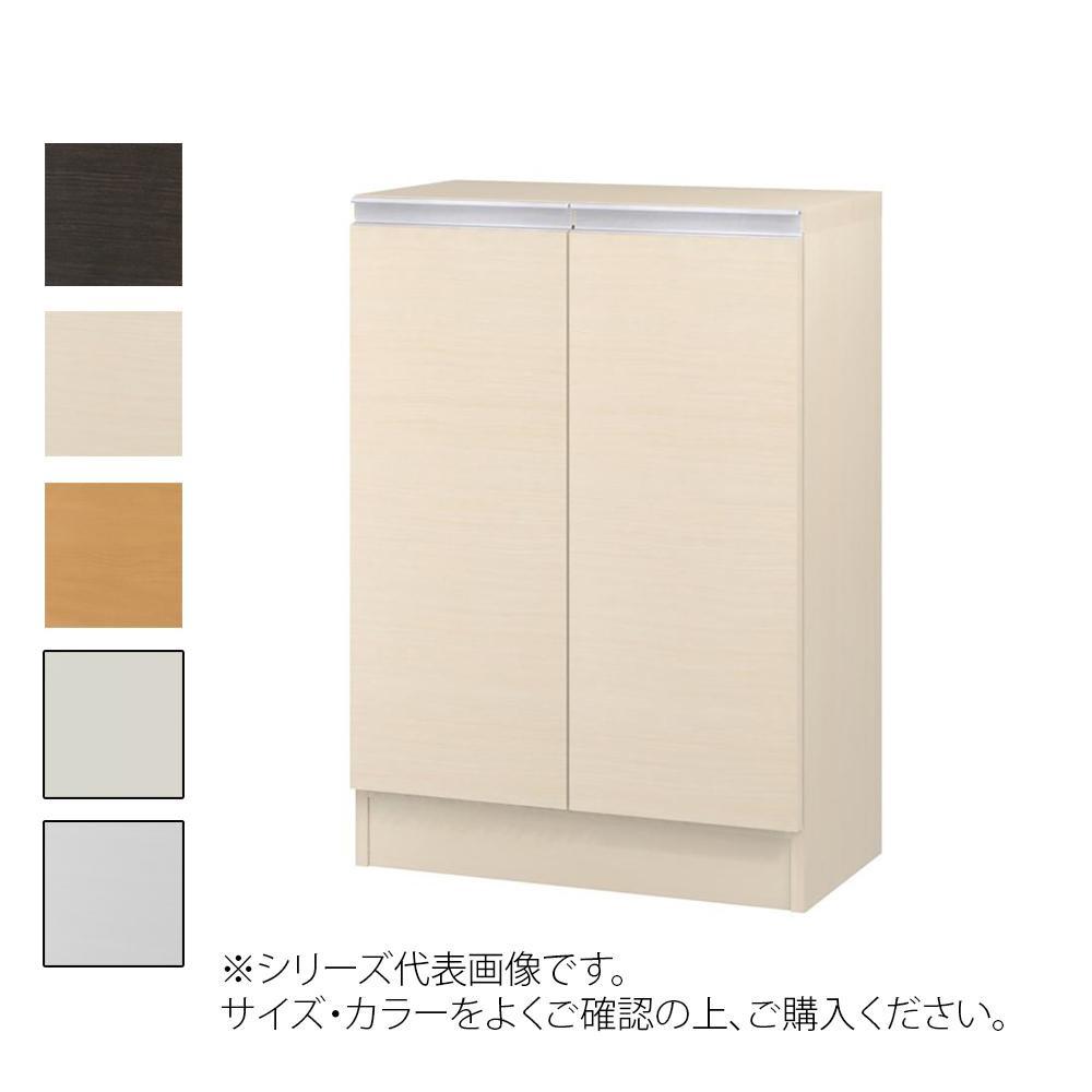 TAIYO MIOミオ(ミドルオーダー収納)8560 R ダークブラウン(DB) つかみやすいハンドルの扉付き収納棚。