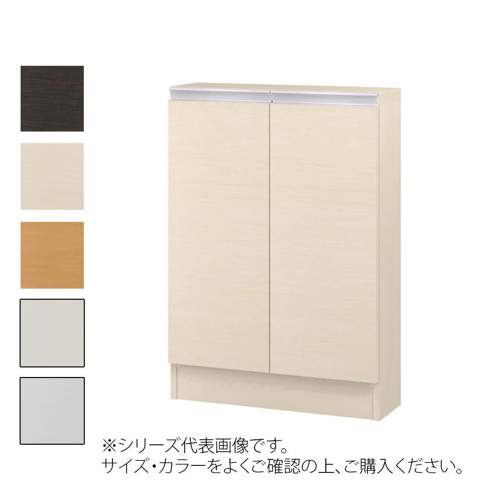 TAIYO MIOミオ(ミドルオーダー収納)8560 S ダークブラウン(DB) つかみやすいハンドルの扉付き収納棚。