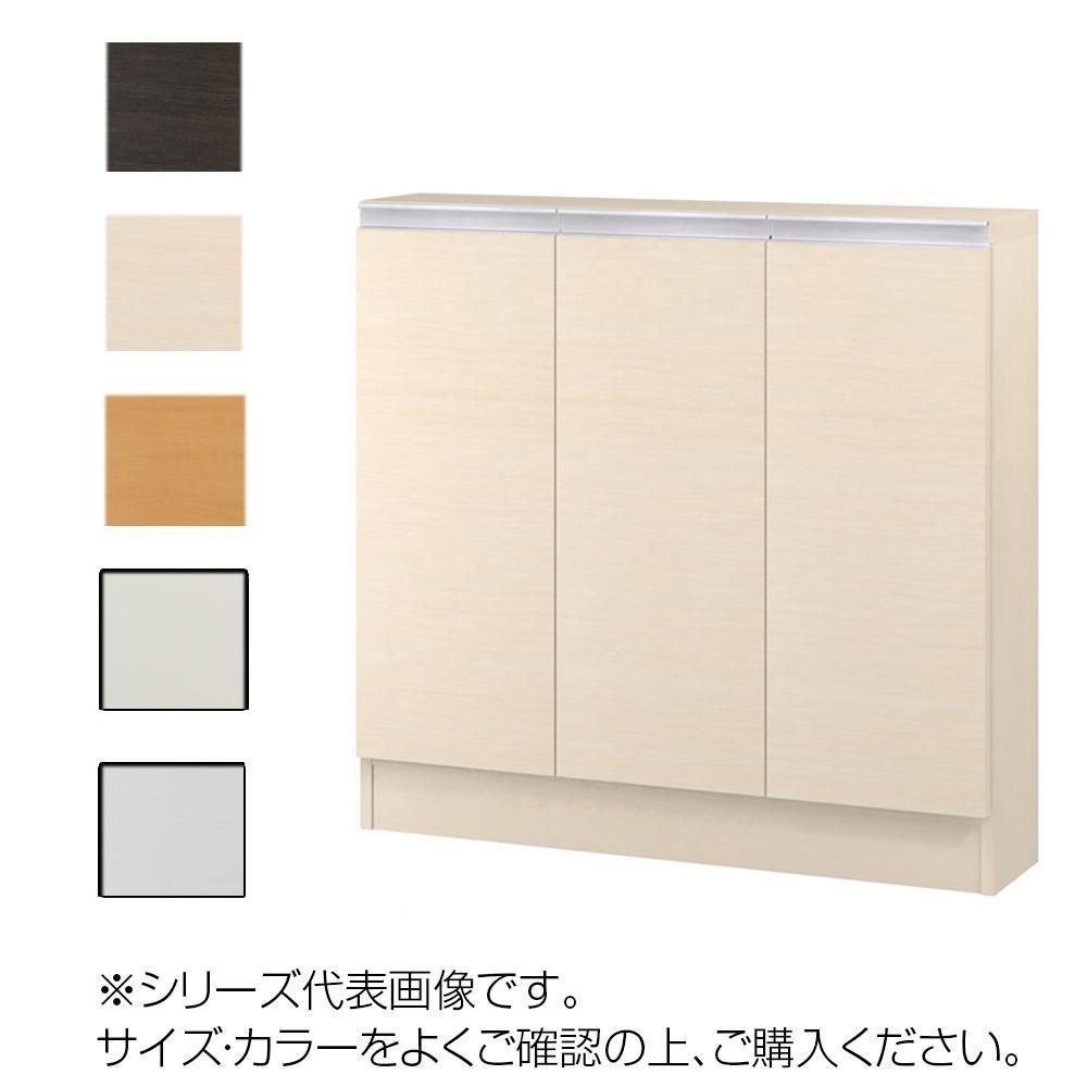 TAIYO MIOミオ(ミドルオーダー収納)8590 S ダークブラウン(DB) つかみやすいハンドルの扉付き収納棚。
