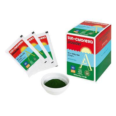 サン・クロレラ A パウダー30袋 (6g×30袋) 健康な食生活をサポート