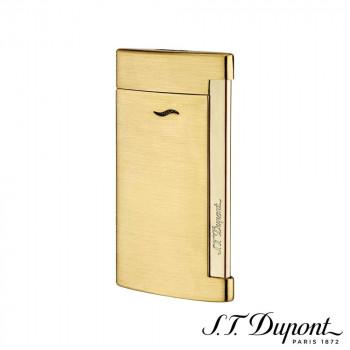 S.T. Dupont エス・テー・デュポン ライター スリム 7 ブラッシュゴールデン 027711 027711 超極薄のラグジュアリーライター