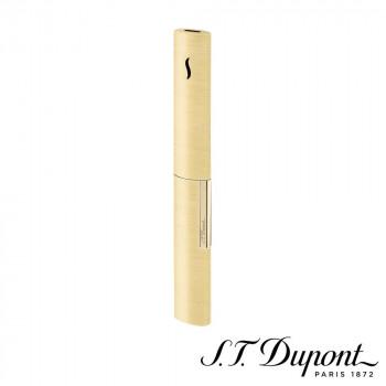 S.T. Dupont エス・テー・デュポン ライター ザ・ウァン シャンパンゴールド 024008 024008 艶やかでスレンダーなフォルムにハイテク技術を搭載
