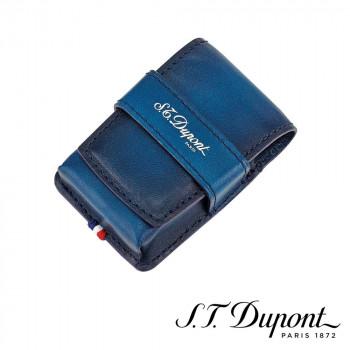 S.T. Dupont エス・テー・デュポン ラインD アトリエ ライン2 ライターケース ブルー 190413 190413 職人達の技術を復刻させた「アトリエ」レザーコレクション