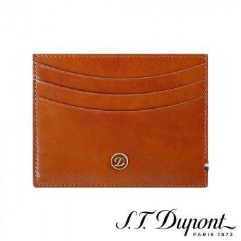S.T. Dupont エス・テー・デュポン ラインD クレジットカードホルダー 6CC ブラウン 180108 180108 人間工学や使い心地、機能性を重視したデザイン