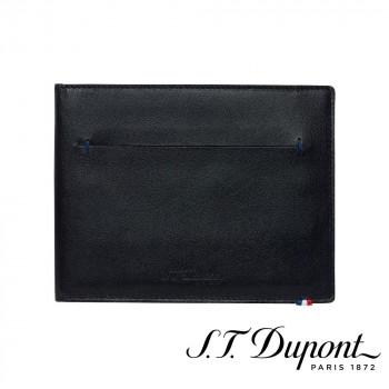 S.T. Dupont エス・テー・デュポン ラインD スリム 2つ折り財布 7CC ブラック 184000 184000 軽くてスリム、シンプルでタイムレスなレザーコレクション