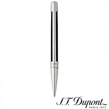 S.T. Dupont エス・テー・デュポン デフィ ボールペン ブラックコンポジット&パラディウム 405674 405674 航空機を想起させるクールなフォルム