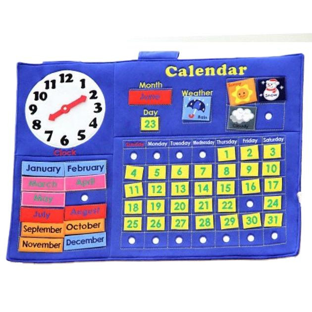 smilekids カレンダータペストリー JE1212 確認をする習慣を身に付けましょう!