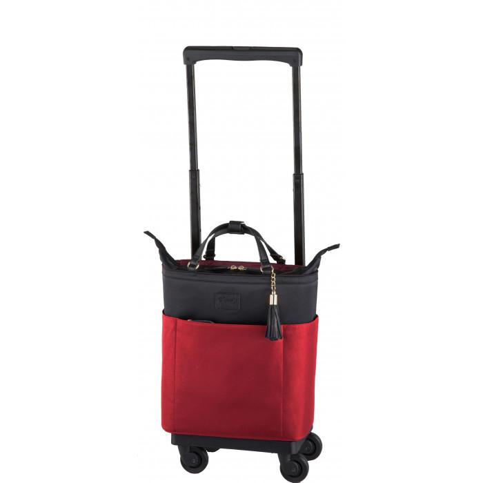 SWANY スワニー D-284 カトゥサコ(M18) ワイン 場所やシーンを選ばず持ちやすいキャリーバッグ