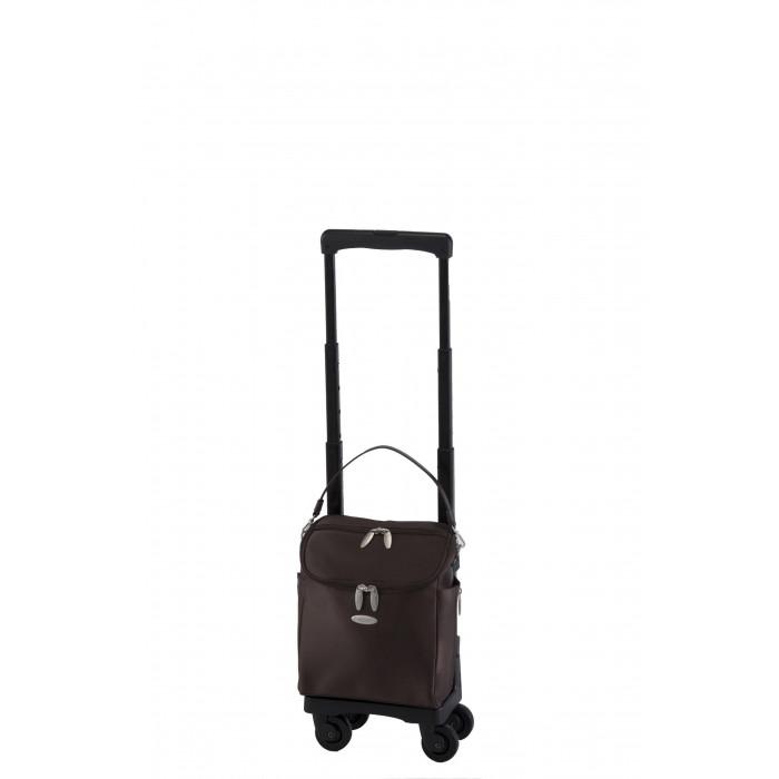 SWANY スワニー D-291 ジップIV TS15 ダークブラウン 多機能×シンプルなデザインのキャリーバッグ