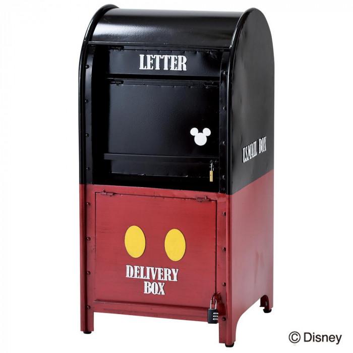 セトクラフト 宅配メールボックス ミッキー SD-8211 大人気アメリカンポストの宅配ボックス付きミッキーバージョン