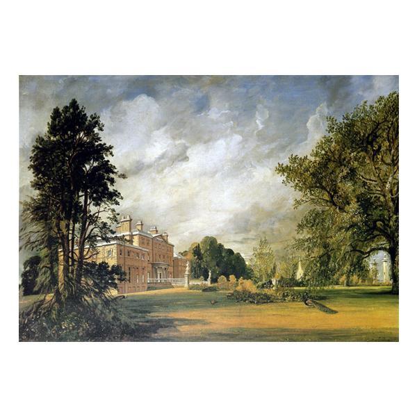 プリハード ジョン・コンスタブル マルヴァーン・ホール正面入り口 P10号 額縁A 5588 ジョン・コンスタブルの複製画です。