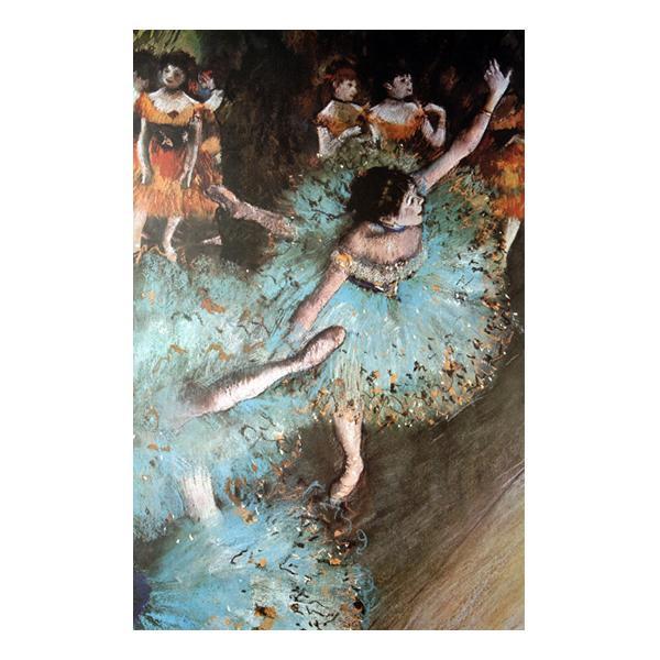 プリハード エドガー・ドガ バランスをとる踊り子 M20A号 額縁D 8293 エドガー・ドガの複製画です。
