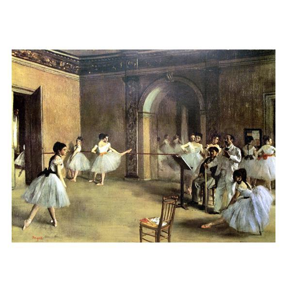 プリハード エドガー・ドガ 楽屋の踊り子達 M20A号 額縁B 8207 エドガー・ドガの複製画です。