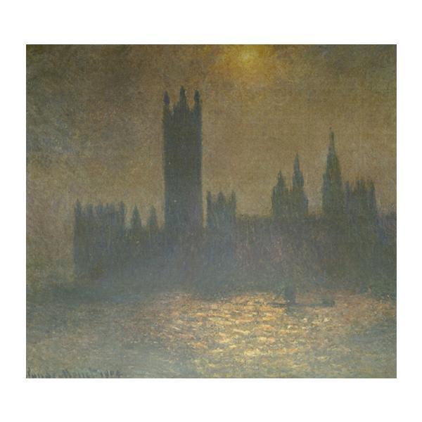 プリハード クロード・モネ ロンドンの議事堂 F10号 額縁G 5089 クロード・モネの複製画です。