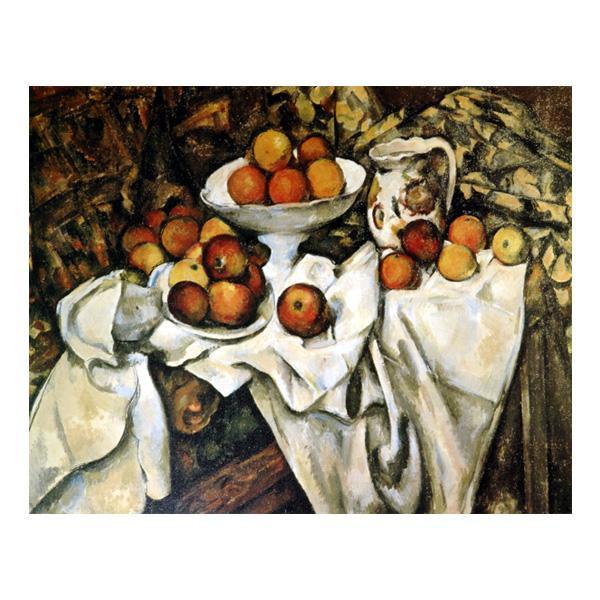 プリハード ポール・セザンヌ リンゴとオレンジ F8号 額縁D 4592 ポール・セザンヌの複製画です。