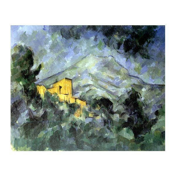 プリハード ポール・セザンヌ サント・ヴィクトワール山とシャトー・ノワール P10号 額縁C 5782 ポール・セザンヌの複製画です。