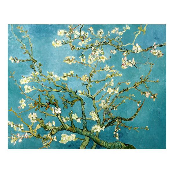 プリハード ヴィセント・ヴァン・ゴッホ 花咲くアーモンドの枝 P8号 額縁B 0253 ヴィセント・ヴァン・ゴッホの複製画です。