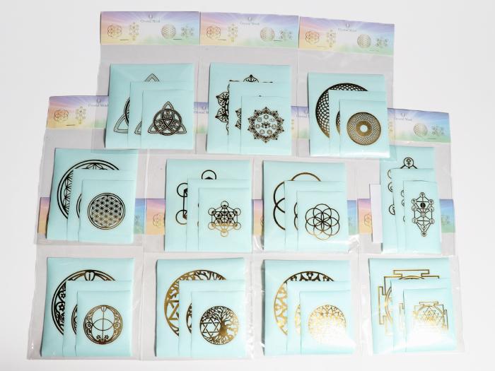 エナジーシール 全11種 お試しセット 浄化 瞑想 ヒーリング【Crystal Mind】 送料無料