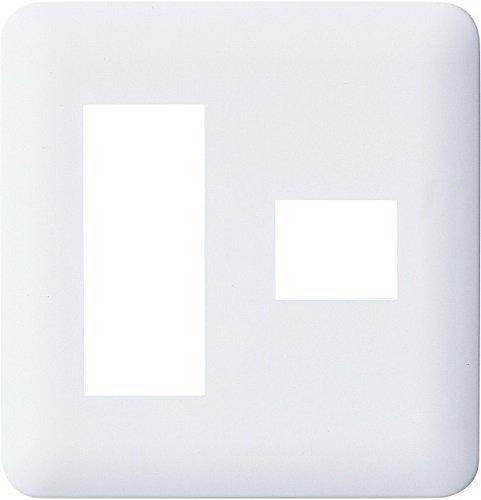 送料無料 迅速にお届けします パナソニック Panasonic コスモシリーズワイド21 コンセントプレート2連用 ついに再販開始 4個用 10個入 2個+1個用 ホワイト WTF7074W 爆安プライス