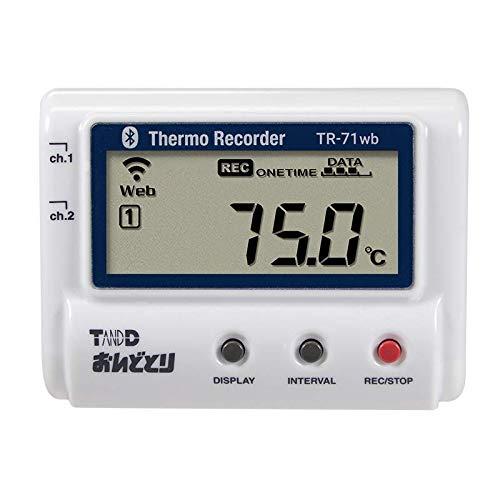 温度データロガー TR-71wb