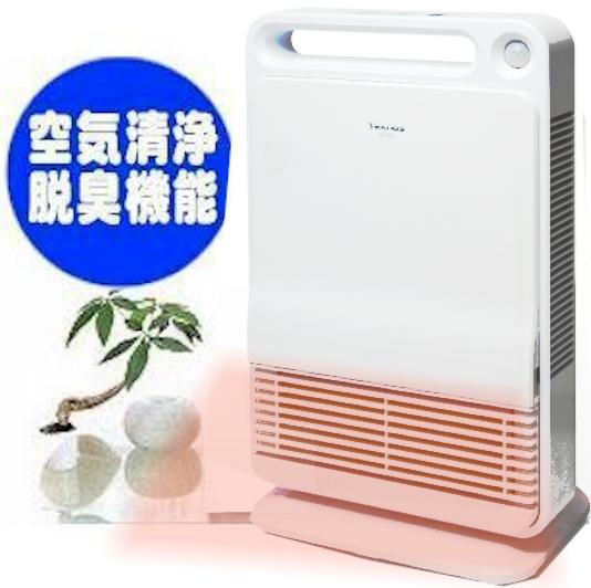 セラミックファンヒーター/自動人感付暖房&脱臭空気清浄機能/トイレ暖房/セール