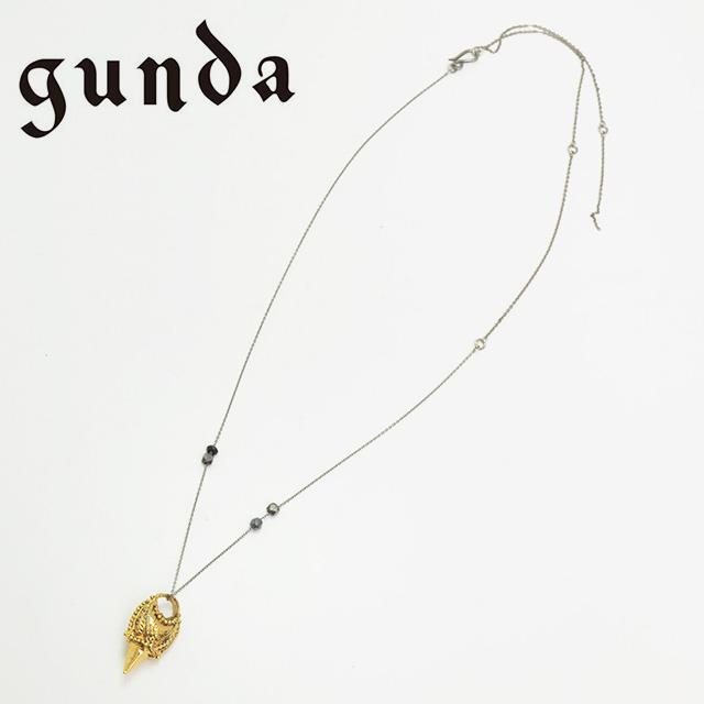 【gunda】 ガンダ ネックレス SPIKE 2 ユニセックス 【送料無料】 【返品・交換不可】