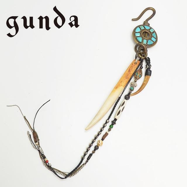 【gunda】 ガンダ ANTENNA チャーム ユニセックス  【返品・交換不可】