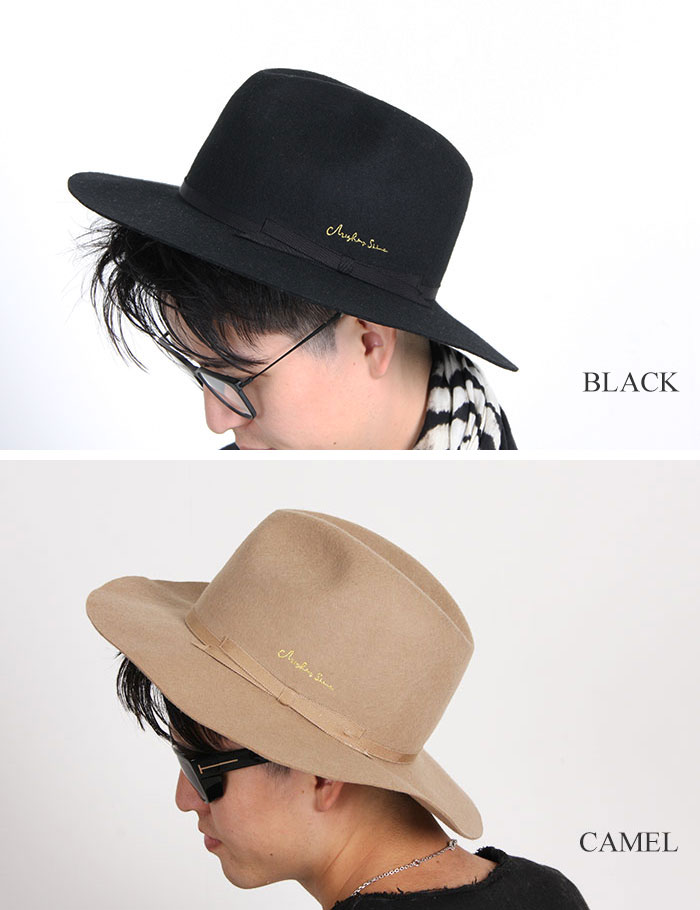 Mighty Shine hattomaitishain SNUFKIN餐巾山帽子羊毛帽子帽子男女兼用MS16WIN09 BLACK/CAMEL
