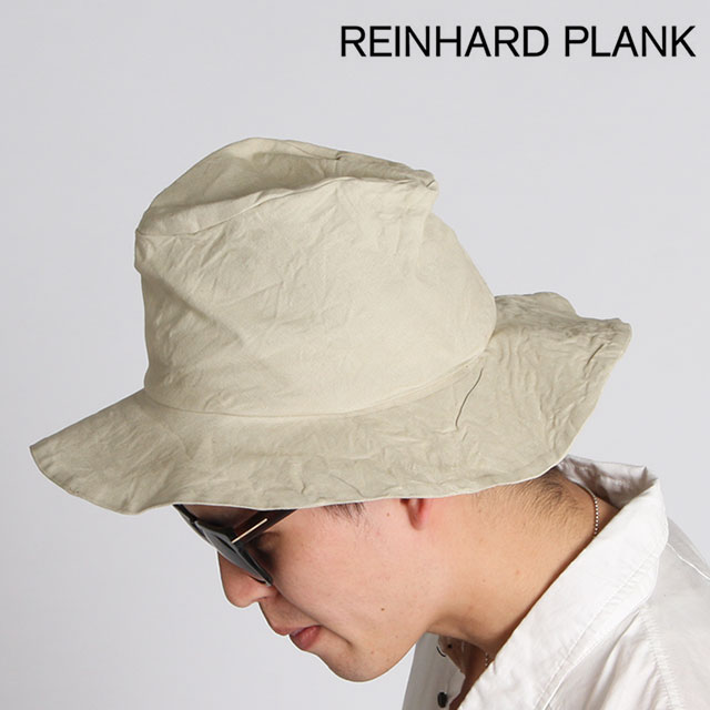 REINHARD PLANK ハット レナードプランク BUCKET/COT コットンハット バケットハット 帽子 綿 男女兼用 6582971002 BEIGE ベージュ【正規取扱店】