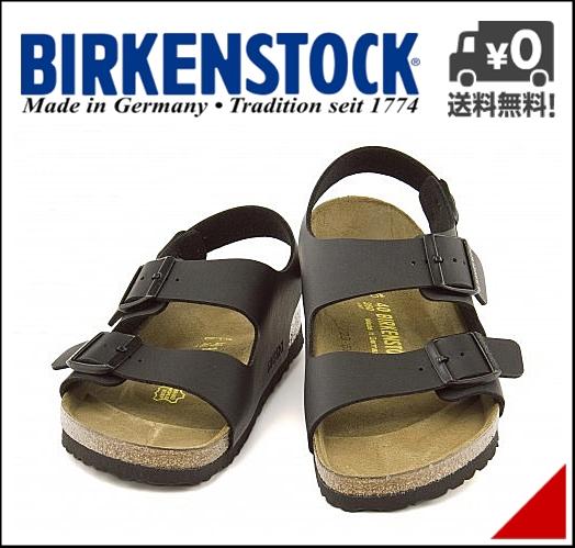 ビルケンシュトック メンズ コンフォート サンダル ミラノ 幅広 痛くない 歩きやすい 疲れない バックストラップ クラシック カジュアル デイリー トラベル ビジネス オフィス MILANO BIRKENSTOCK 034791 ブラック
