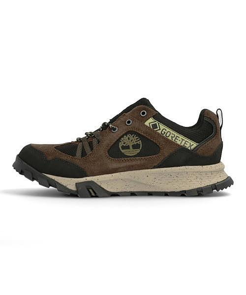 ティンバーランド Timberland ギャリソントレイルゴアテックス GARRISON TRAIL GORE-TEX LOW HIKER ダークブラウンスエード ハイキングシューズ スニーカー 軽量 通気性 クッション性 防水 雨 雪 靴 W カジュアル ウォーキング A23DK
