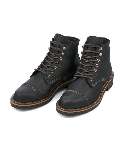 ウルヴァリン ワークブーツ メンズ ジェンソン GORE-TEX クッション性 防水 雨 雪 靴 カジュアル デイリー トラベル アウトドア ウォーキング JENSON WOLVERINE W40418 ブラックレザー
